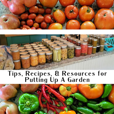 Putting Up A Garden Harvest: Tips, Recipes, & Resources (Part 1)