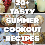 A collection of cookout recipes for appetizers, drinks, sides, desserts, and more-- perfect for sharing at summer parties and potlucks!