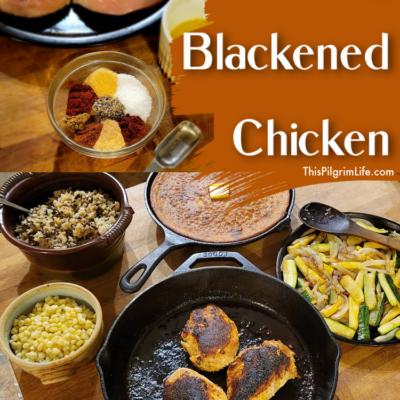 Amazing Blackened Chicken